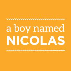 A Boy Named Nicholas logo